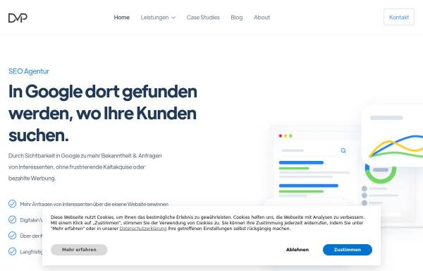 Vorschau von www.positiondigital.de, SEO Agentur Position Digital