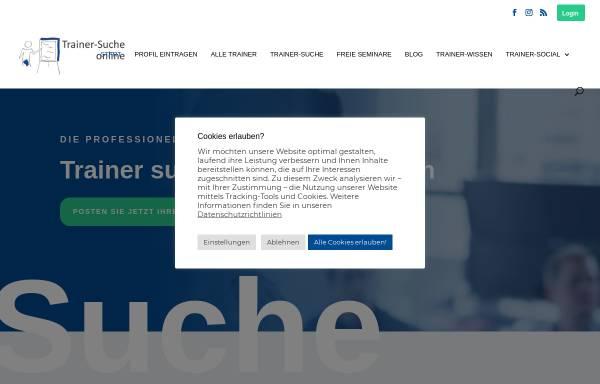 Vorschau von trainer-suche.online, Trainer-Suche.online
