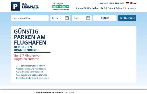 Vorschau von www.dein-stellplatz.de, Dein Stellplatz GmbH
