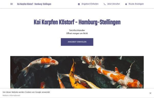 Vorschau von koi-karpfen-koestorf-filiale-hamburg.business.site, Koi Karpfen Köstorf - Hamburg-Stellingen
