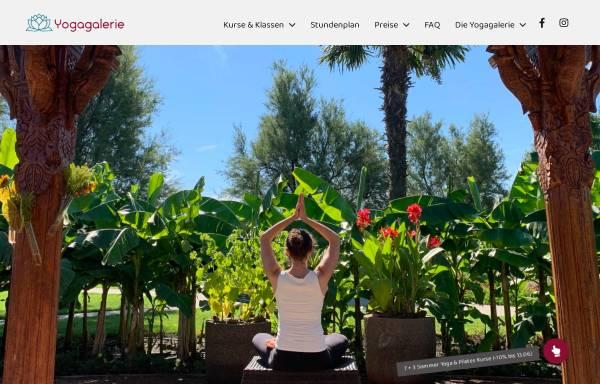 Vorschau von www.yogagalerie.at, Yogagalerie