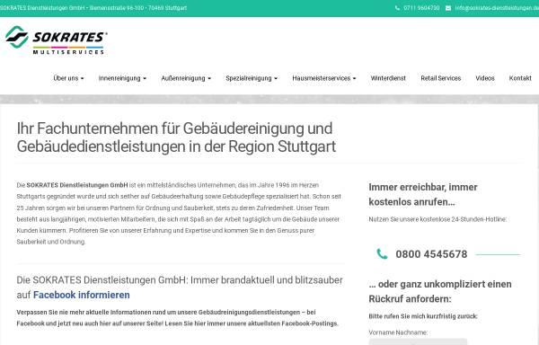Vorschau von sokrates-dienstleistungen.de, SOKRATES Dienstleistungen GmbH
