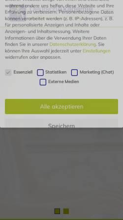 Vorschau der mobilen Webseite www.deutschakademie.de, DeutschAkademie
