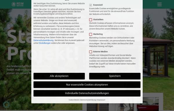 Vorschau von www.heimmeister.de, Heimmeister.de