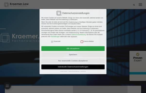 Vorschau von www.kraemer.law, Kraemer.Law