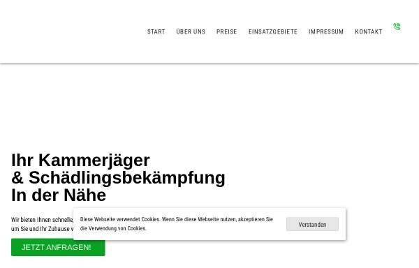 Vorschau von www.kammerjaeger-walter.de, Kammerjäger Walter