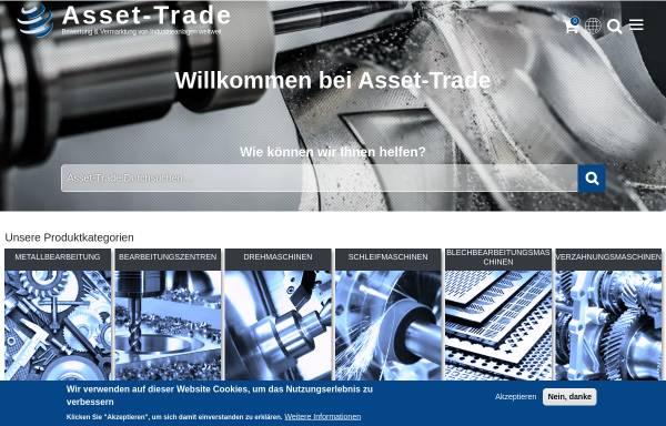 Vorschau von www.asset-trade.de, Asset Trade