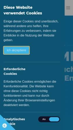 Vorschau der mobilen Webseite www.prime-real.de, PRIME