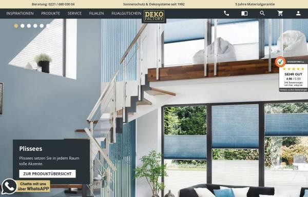 Vorschau von www.dekofactory.de, Dekofactory