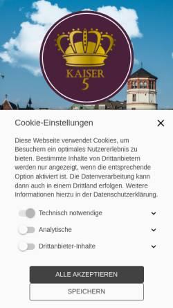 Vorschau der mobilen Webseite www.kbs-5.com, Kaiser Business Service GmbH