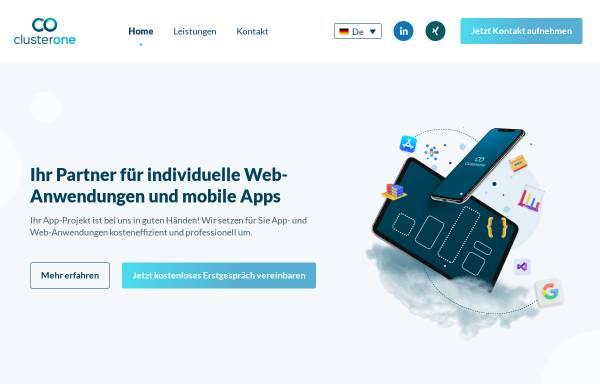 Vorschau von www.cluster-one.eu, Cluster One