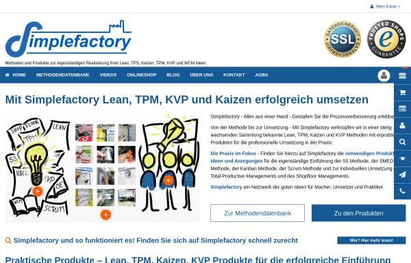 Vorschau von simplefactory.de, Simplefactory