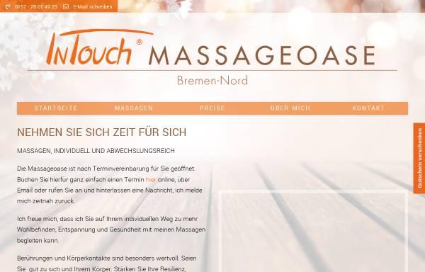 Vorschau von www.intouch-massageoase-bremen-nord.de, InTouch Massageoase