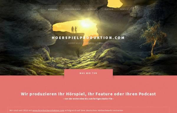 Vorschau von www.hoerspielproduktion.com, Hörspiel Produktion