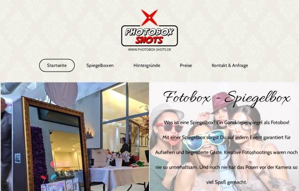 Vorschau von www.photobox-shots.de, Photobox Shots