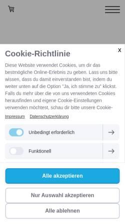 Vorschau der mobilen Webseite www.pt-healthengineers.de, Healthengineers