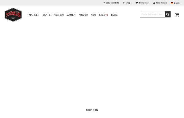 Vorschau von www.titus.de, Titus Shop