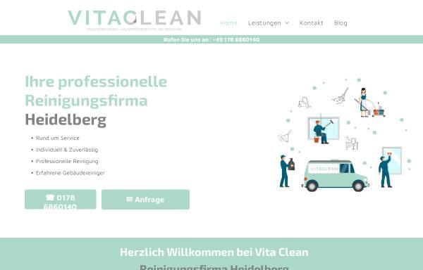 Vorschau von vitaclean-heidelberg.de, Vita Clean Gebäudereinigung