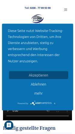 Vorschau der mobilen Webseite www.wellhoener.immobilien, Wellhöner Immobilienmanagement GmbH & Co. KG