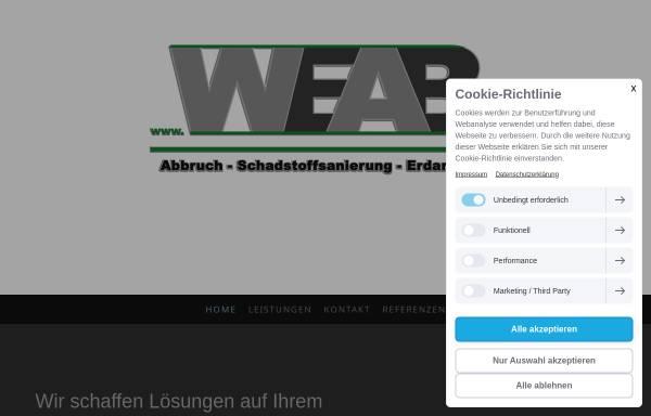 Vorschau von weab.jimdo.com, WEAB