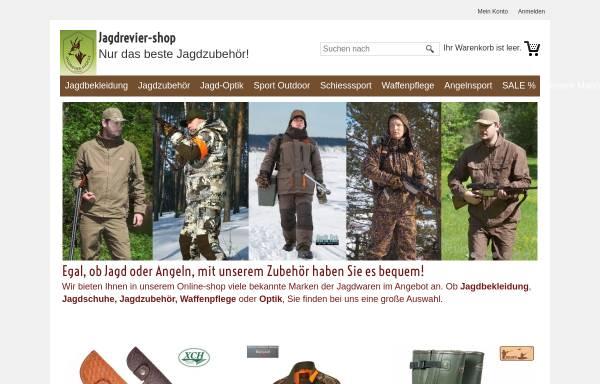 Vorschau von www.jagdrevier-shop.de, Jagdrevier-shop