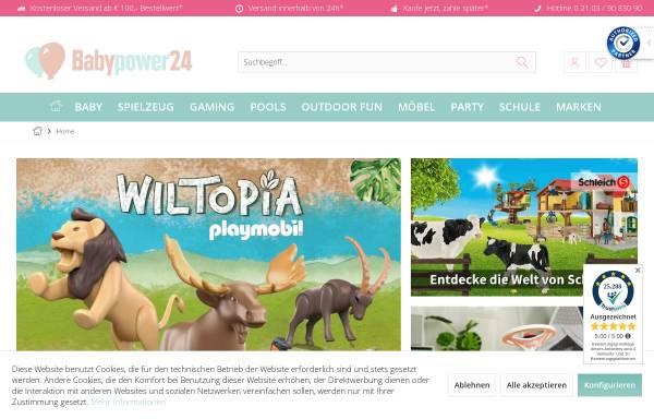 Vorschau von www.babypower24.de, Babypower24