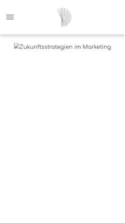 Vorschau der mobilen Webseite www.destinationx.marketing, Destination X