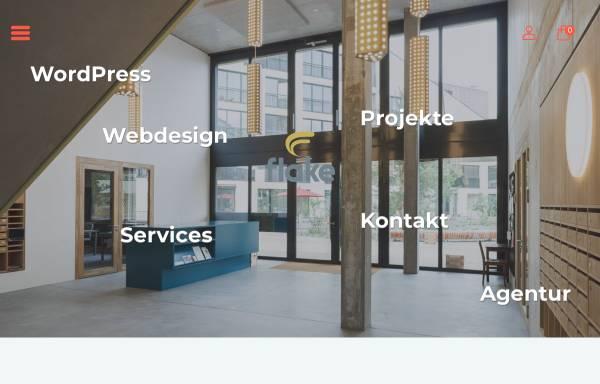 Vorschau von www.flake.ch, flake GmbH