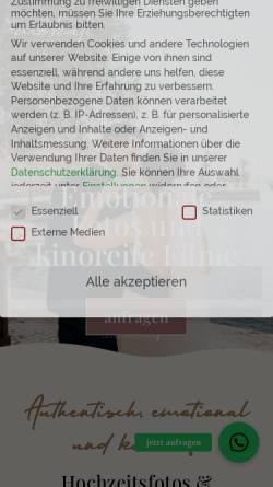 Vorschau der mobilen Webseite www.mokati.de, MOKATI Fotos und Film OHG