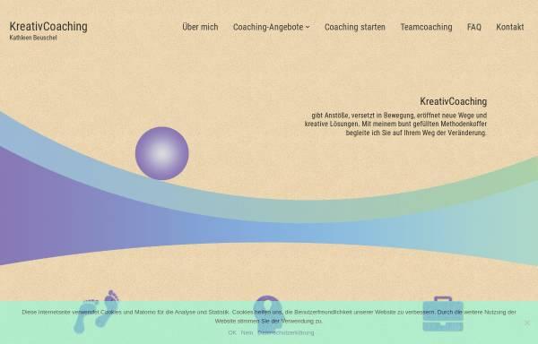 Vorschau von kreativcoaching-dresden.de, KreativCoaching Dresden - Kathleen Beuschel