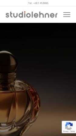 Vorschau der mobilen Webseite www.studiolehner.com, Marcel Lehner