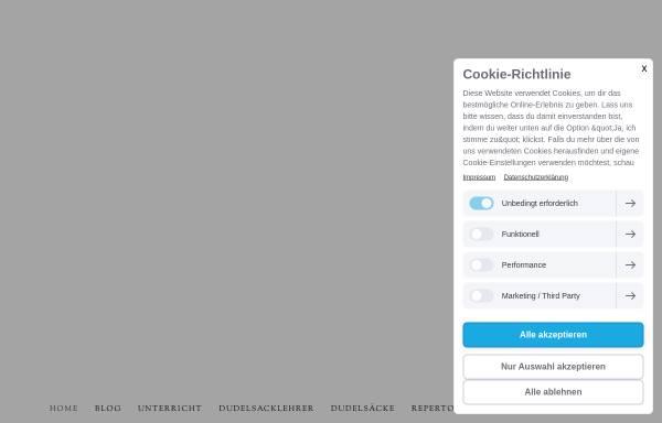 Vorschau von www.dudelsackschule-dresden.de, Dudelsackschule Dresden