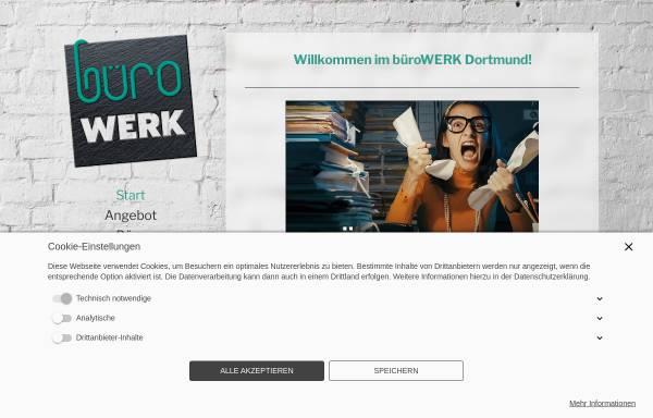 Vorschau von www.buerowerk-dortmund.de, büroWERK Dortmund