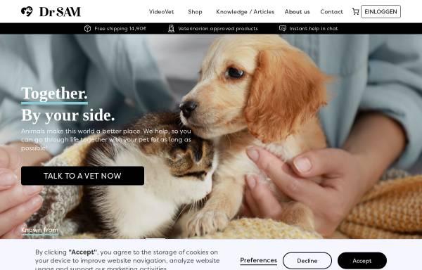 Vorschau von www.drsam.de, Dr. SAM Germany GmbH