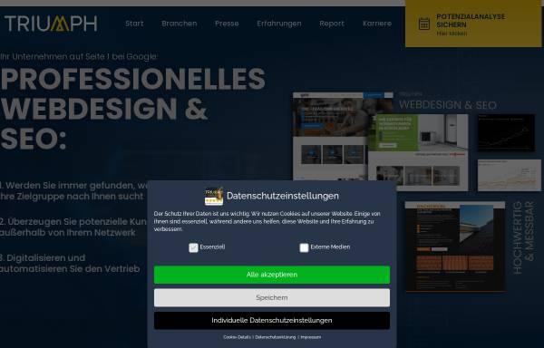Vorschau von triumph-agentur.de, Triumph Agentur
