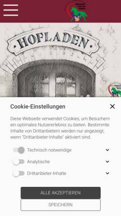 Vorschau der mobilen Webseite schnauze-fell-pfoten.de, Schnauze, Fell und Pfoten
