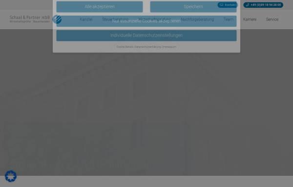Vorschau von www.schaalundpartner.de, Schaal und Partner mbH