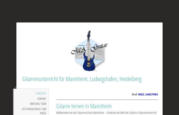 Vorschau von www.ma-guitar.de, Gitarrenschule Ma-Guitar