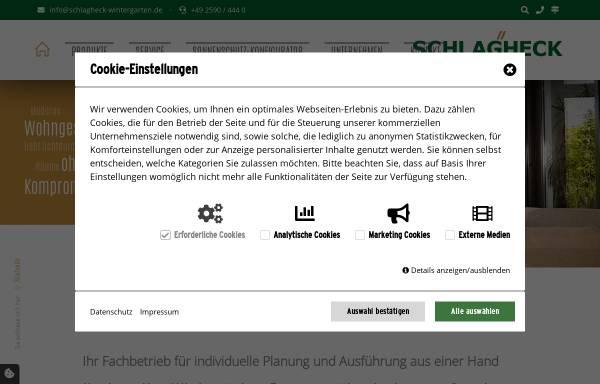 Vorschau von www.schlagheck-wintergarten.de, Schlagheck GmbH