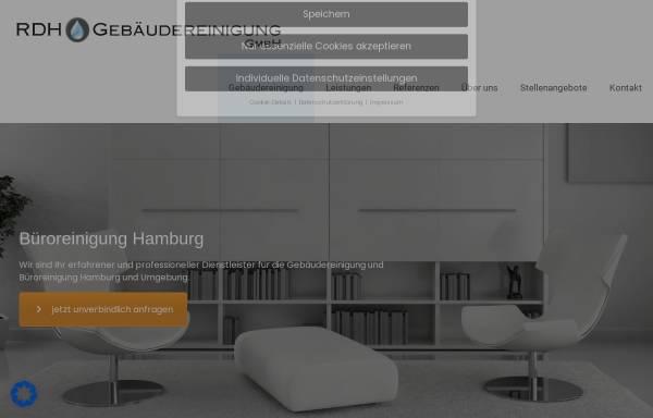 Vorschau von www.hamburg-reinigungsdienst.de, RDH Gebäudereinigung Hamburg