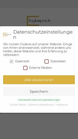 Vorschau der mobilen Webseite bastlampen.de, Bastlampen - Huyen Pietruske