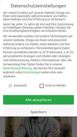 Vorschau der mobilen Webseite jonny-reichel.de, Osteopathie Reichel