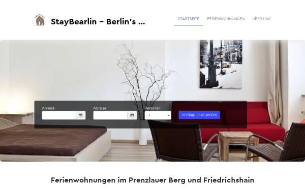 Vorschau von www.staybearlin.com, StayBearlin
