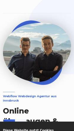 Vorschau der mobilen Webseite www.ramoser-webdesign.com, Ramoser Webdesign OG