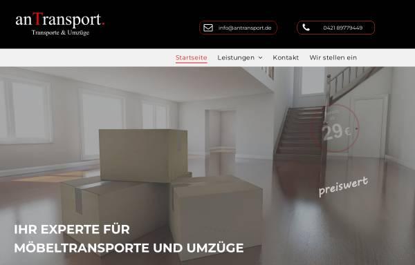 Vorschau von www.antransport.de, anTransport