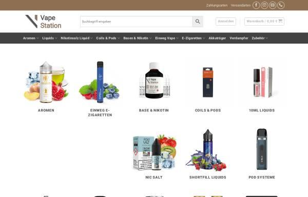 Vorschau von vapestation.de, Vape Station E-Zigaretten Shop Köln