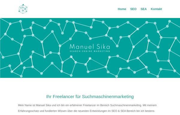 Vorschau von onlinemarketing-expert.com, Manuel Sika - SEO Freelancer