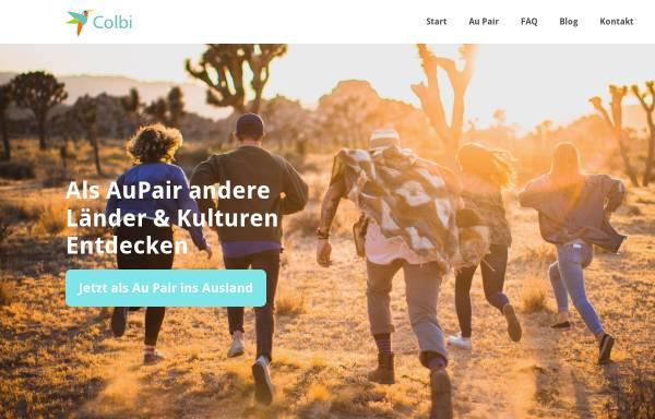 Vorschau von www.aupair-colbi.com, AuPair-Agentur Colbi