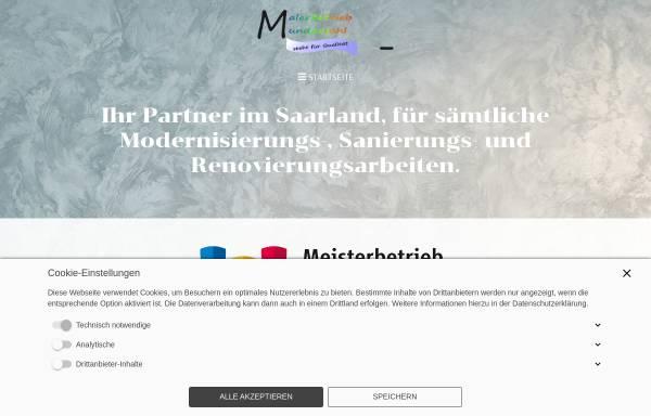 Vorschau von www.malerbetrieb-mundanjohl.de, Malerbetrieb Kevin Mundanjohl