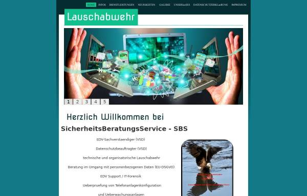 Vorschau von www.sicherheitsberatungsservice.de, SicherheitsBeratungsService